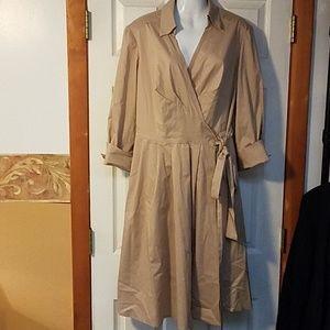 Donna Ricco Wrap Dress
